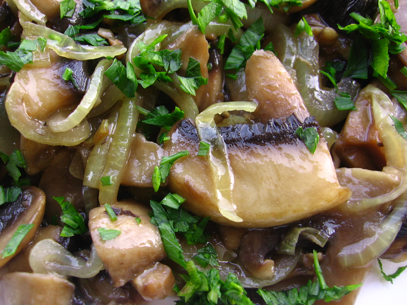 Ciuperci cu verdeata