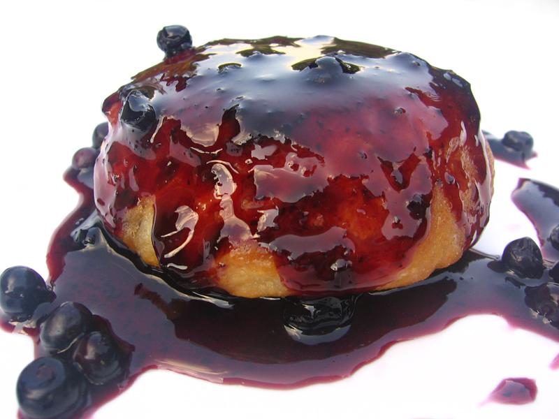 Gogosi cu dulceata de afine
