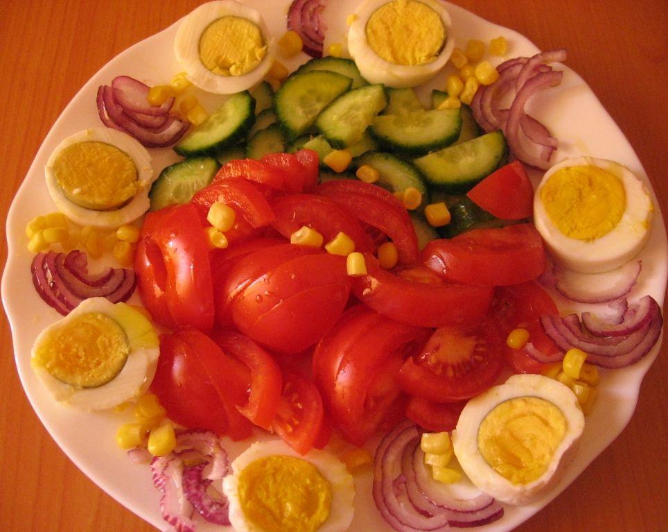 Salata cu ou