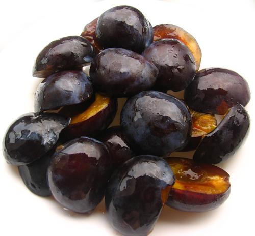 Prajitura cu prune si piersici