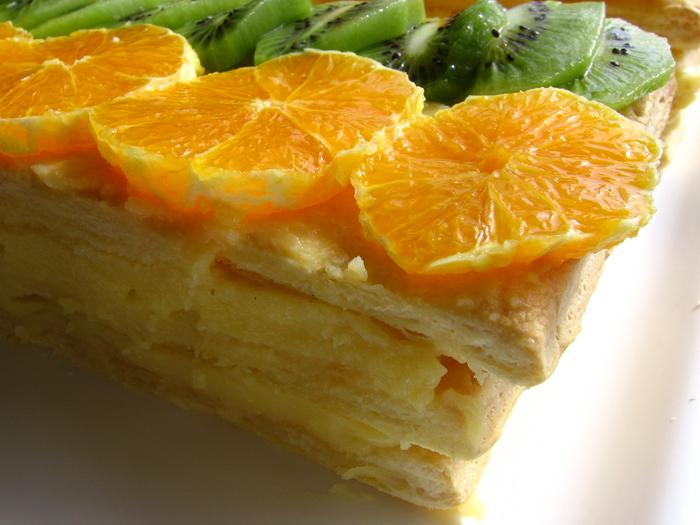 Cremsnit cu fructe