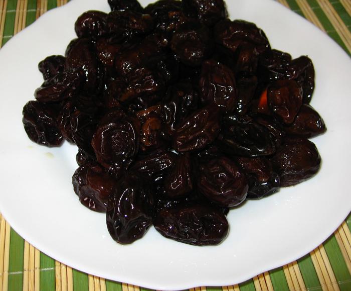 Gem din prune uscate cu vanilie
