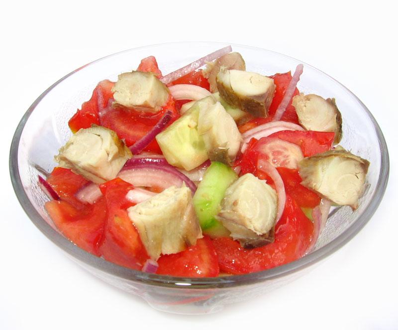 Salata cu macrou