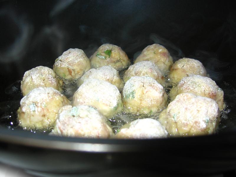 Chiftelute picante