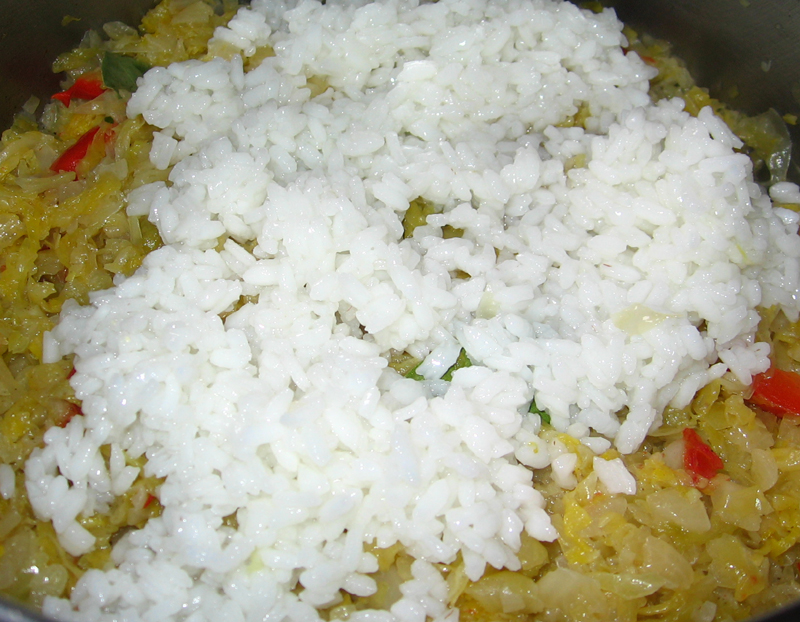 Varza acra cu orez