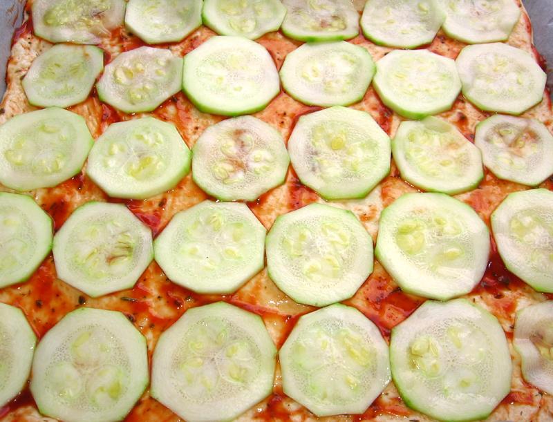 Pizza cu dovlecei
