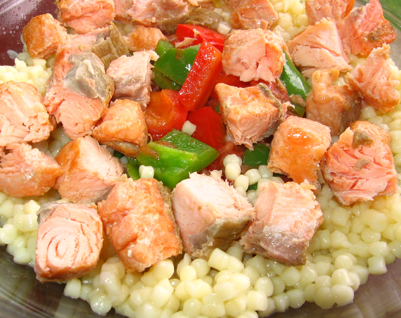 Salata cu somon
