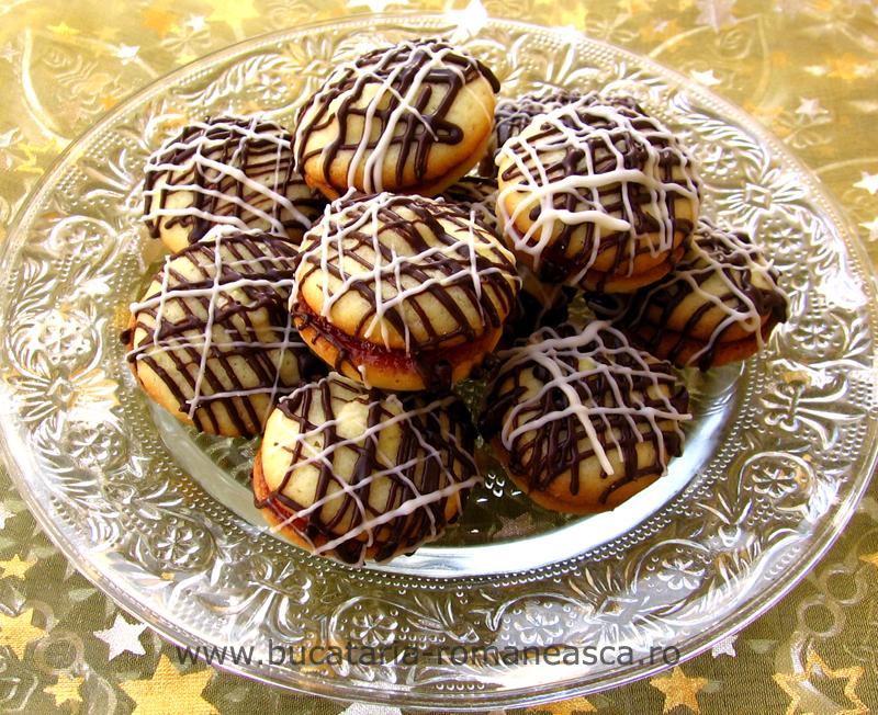 Fursecuri cu marmelada si cicolata