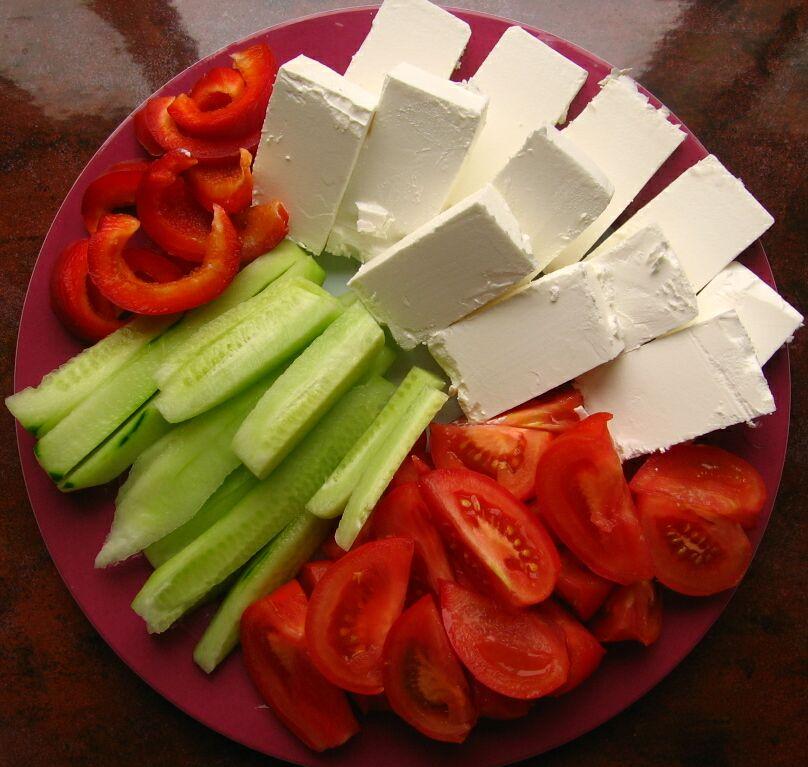 Aperitiv cu legume