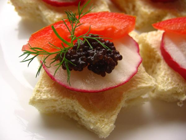 Tartine caviar