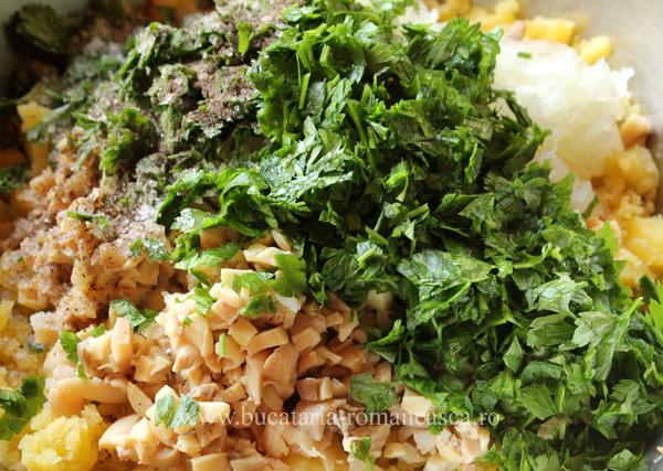 chiftele de post cu ciuperci si cartofi (2)