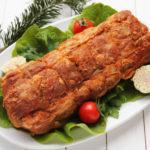Muschi de porc cu boia (afumat)