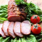 Muschi de porc la tava