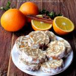 Salam de biscuiti cu portocale