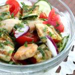 Salata de dovlecei cu pui