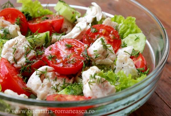 Salata cu peste