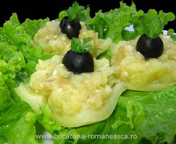 salata de vinete cu ardei