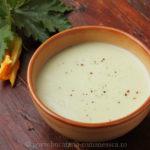 Supa-crema de dovlecei